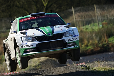Skoda WRC taken with Sony a6500 and SEL100400GM Lens