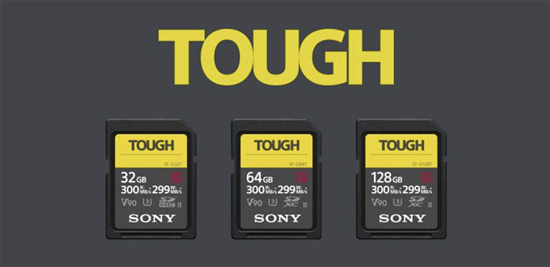 sony sf-g tough sd cards