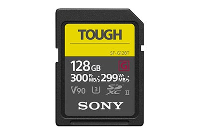 sony sf-g128t sd card