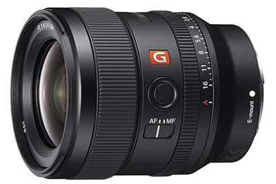 Sony Launches 24mm F1.4 G Master Prime Lens
