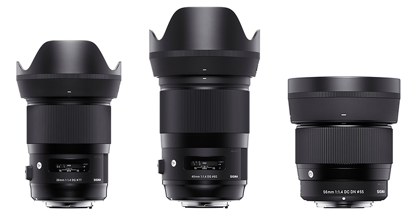 sigma contemporary lenses sony e-mount