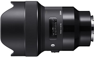 Sigma 14mm 1.8 DG HSM Art Lens for Sony E-mount