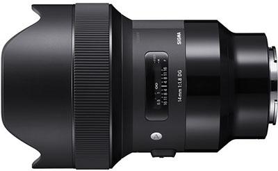 Sigma 14mm 1.8 DG HSM Art Lens for Sony E-mount