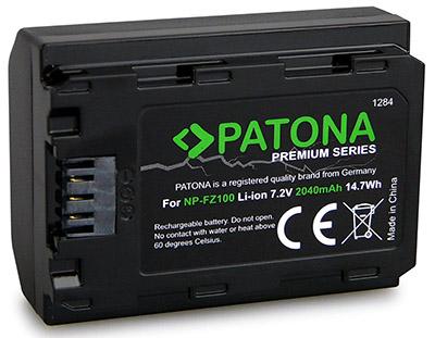 patona np-fz100 battery