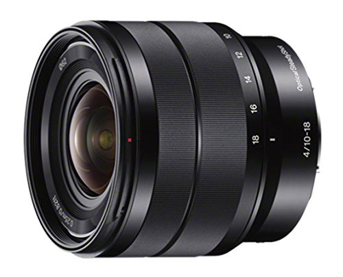 sony 10-18mm f4 wide-angle lens