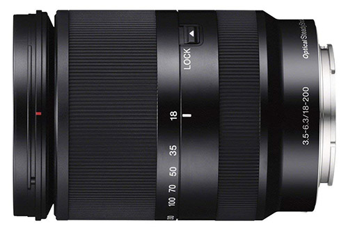 Sony E 18–200mm F3.5–6.3 OSS LE