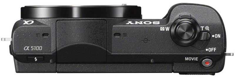 sony a5100 top