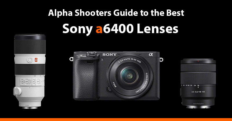 sony a6400 lenses guide