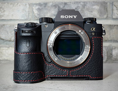 sony a9 leather case lims sy-a9dbk