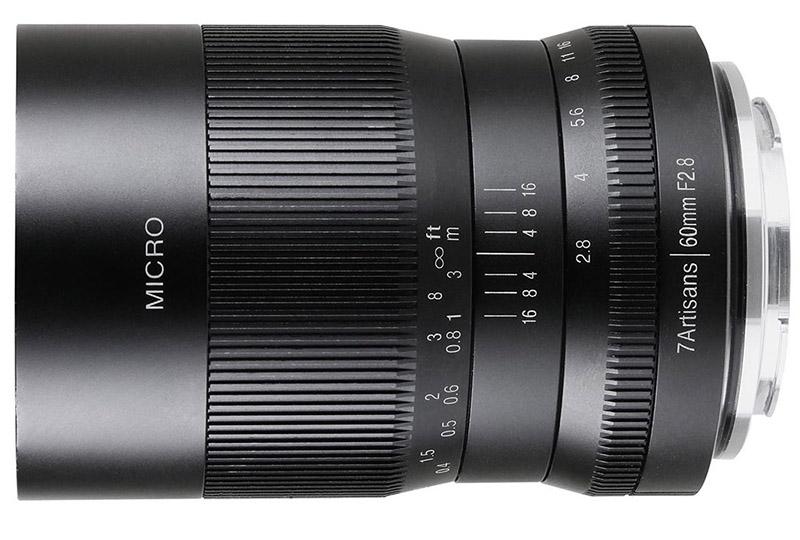 7Artisans 60mm macro lens