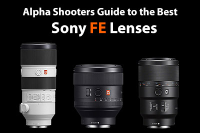 best sony fe lenses