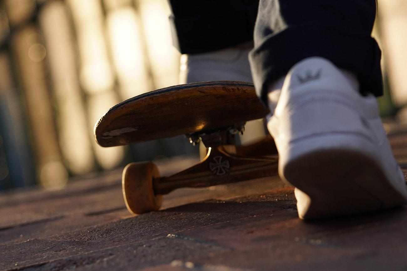 sony a6400 sample image skateboard