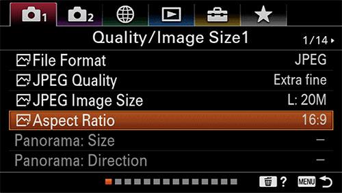 sony a6400 time-lapse setup image quality