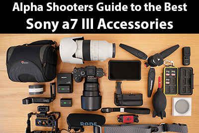 Sony a7 III Accessories