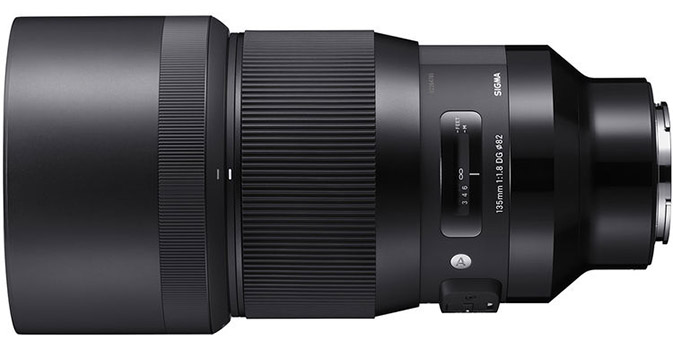 Sigma 135mm 1.8 DG HSM Art Lens for Sony E-mount