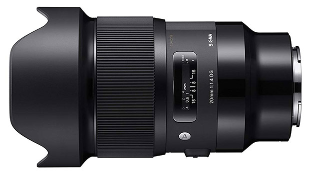 Sigma 20mm 1.4 DG HSM Art Lens for Sony E-mount