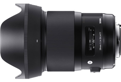Sigma 28mm 1.4 DG HSM Art Lens for Sony E-mount