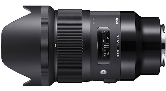 Sigma 35mm 1.4 DG HSM Art Lens for Sony E-mount