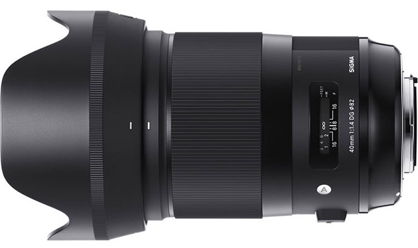 Sigma 40mm 1.4 DG HSM Art Lens for Sony E-mount