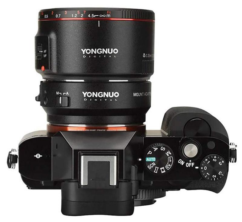 Yongnuo EF-E II adapter