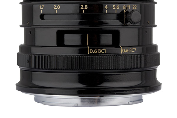 Petzval 55 mm f/1.7 MKII Lens Control Ring