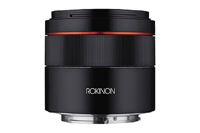 Rokinon Announces 45mm F1.8 FE Lens
