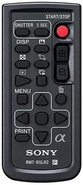 sony rmtdslr2 remote control sony a6000