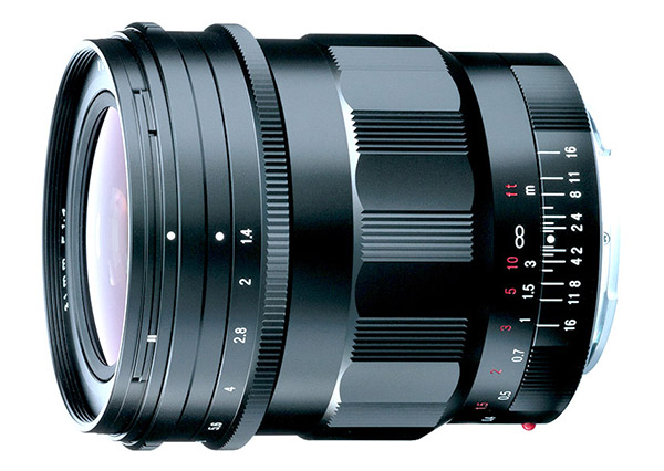 Voigtländer 21mm F1.4 Nokton Lens