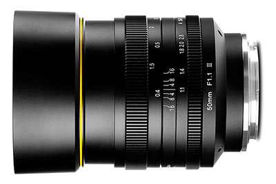 kamlan 50mm f1.1 mark ii lens sony e-mount