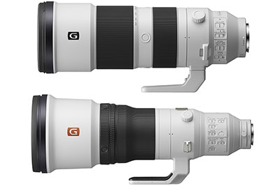 Sony Officially Announces FE 200-600mm F5.6-6.3 G + 600mm F4 GM Lenses