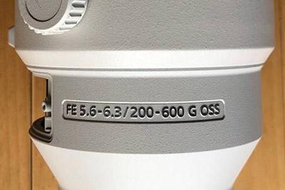 Sony FE 200-600mm F/5.6-6.3 G OSS Lens Stolen & Leaked