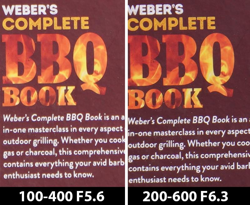 400mm comparison bbq book