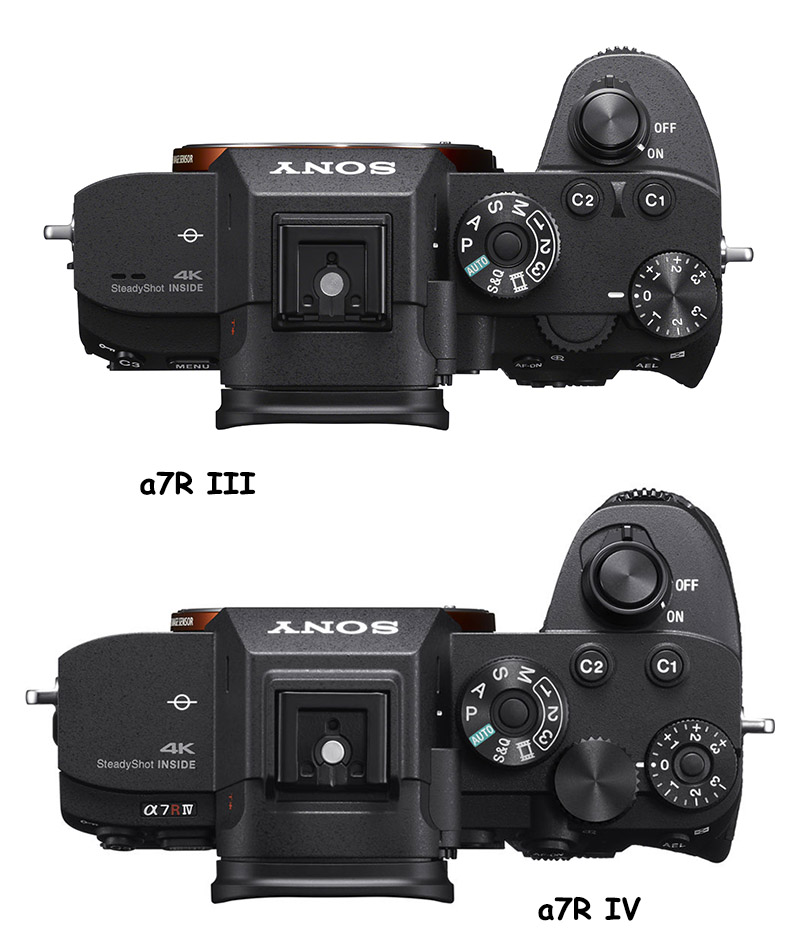 sony a7riii vs a7riv top comparison