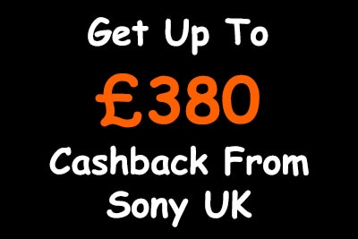 Sony UK Summer Cashback 2019