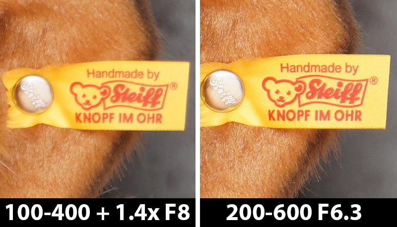 560mm vs 600mm comparison mammoth