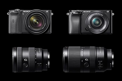 sony a6100 a6600 announcement