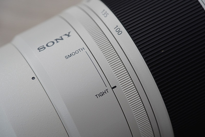 sony 100-400 smooth tight adjustment