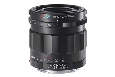 Voigtlander Announces 50mm F2 APO-Lanthar E-mount Lens