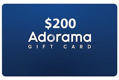 adorama $200 gift card