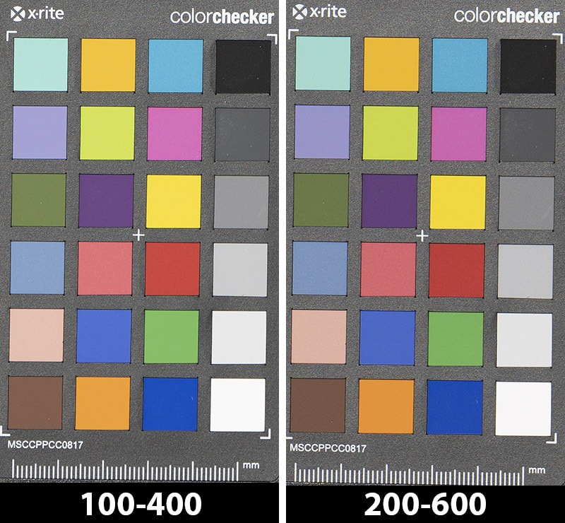 sony 100-400 vs 200-600 color rendition