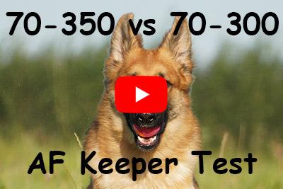 sony 70-350 vs 70-300 autofocus test