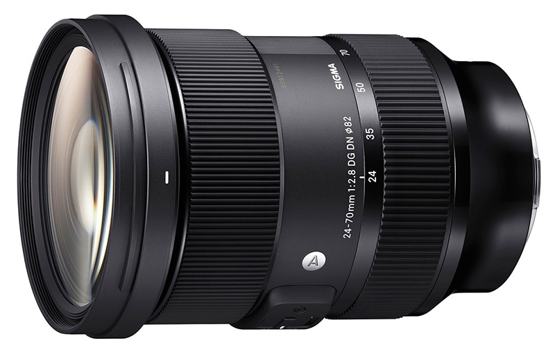 Sigma 24-70mm F2.8 DG DN Art  Side View
