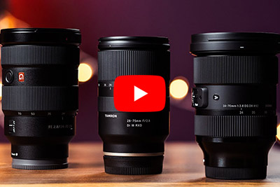 Sigma 24-70mm F2.8 vs Tamron 28-75mm F2.8 vs Sony 24-70 F2.8