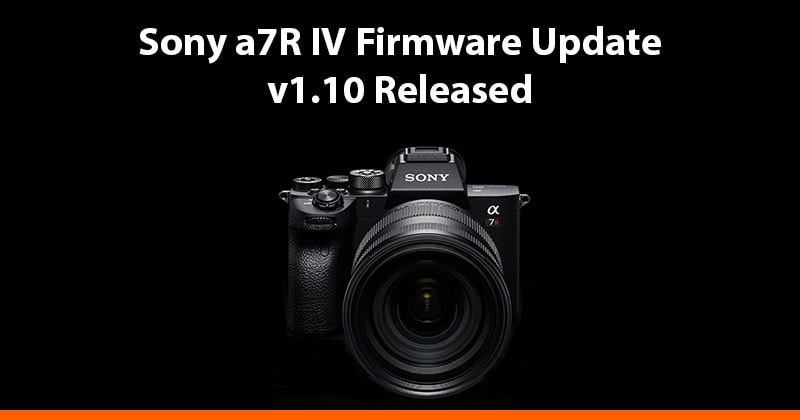 sony a7riv firmware update