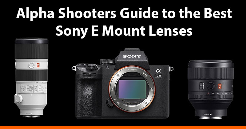Sony E Mount Lenses