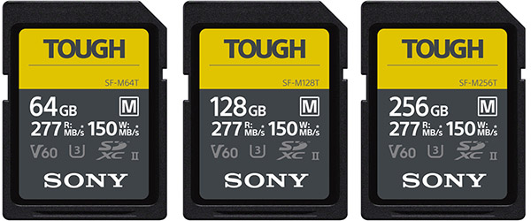 Sony SF-M Tough UHS-II Memory Cards
