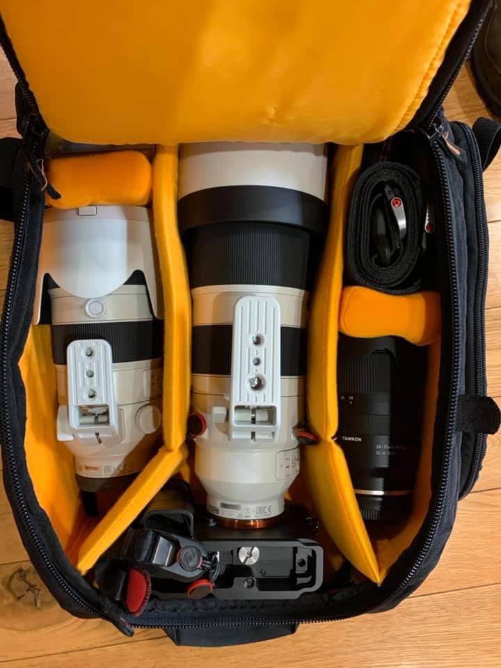 Case Logic SLRC-206 SLR with Sony 200-600 Inside