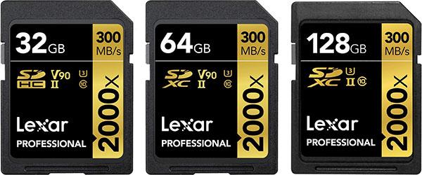 Lexar Professional 2000X UHS-II