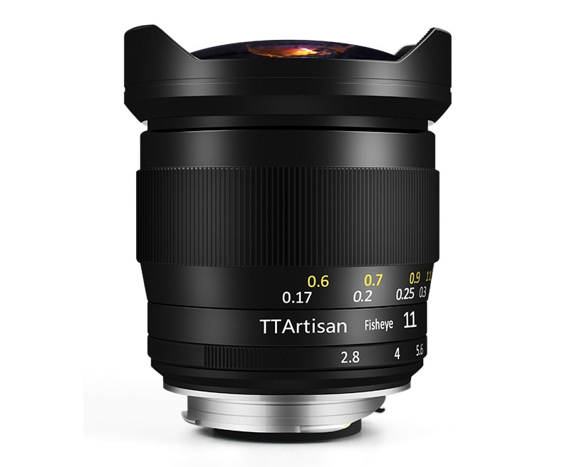 TTArtisan 11mm F2.8 Full-Frame Fisheye Lens