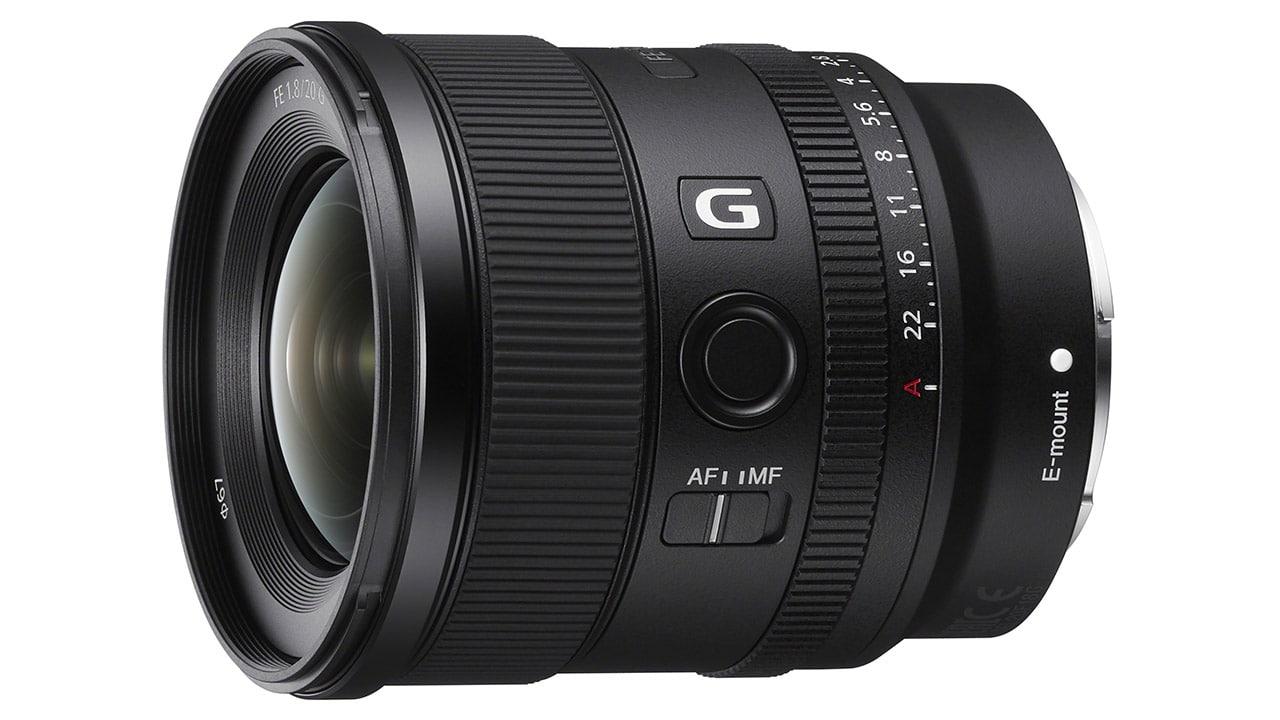 Sony FE 20mm F1.8 G Prime Lens